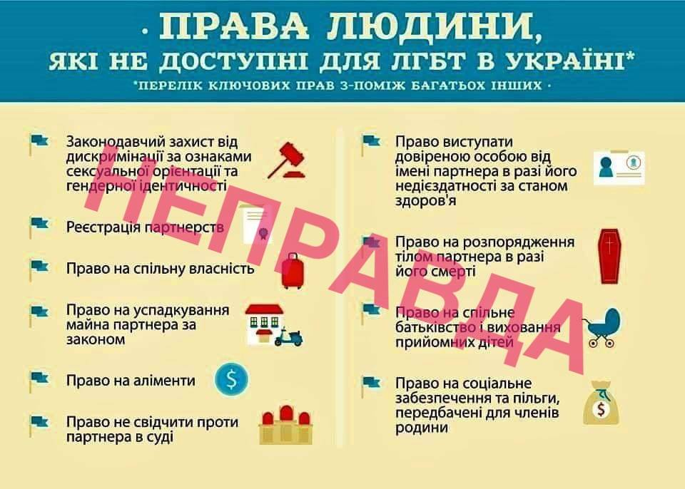 Адвокат Віталій Коломієць: в українському законодавстві вже давно реалізовані вимоги ЛГБТ